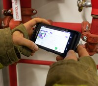 Using real-time maps to stage and deploy personnel