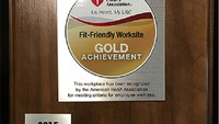 Texas EMS agency recognized as Fit-Friendly Worksite by AHA