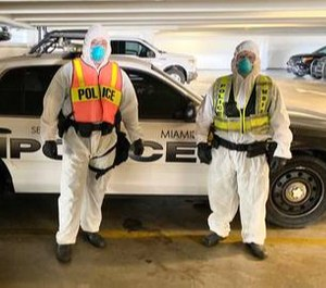 The squad members of the Miami Beach Police COVID-19 Quarantine Response Team will respond to resident calls of out-of-town visitors breaking quarantine orders. (Photo/TNS)