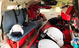Inside an air ambulance (Photo/Wikimedia)