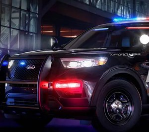 This is a purpose-built vehicle, meaning there are features provided or available that are designed specifically for law enforcement. (Photo/Ford)