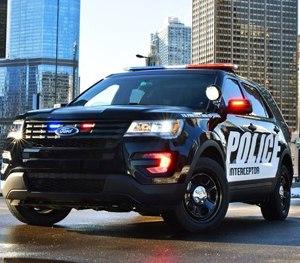 The 2016 Ford Police Interceptor Utility.