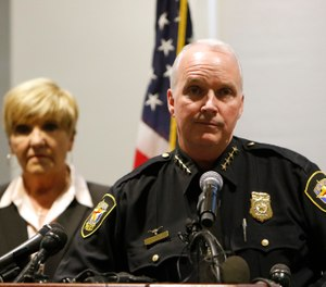 Interim police chief Ed Kraus speaks at a press conference following the killing of Atitiana Jefferson early Saturday morning. (Photo/AP)