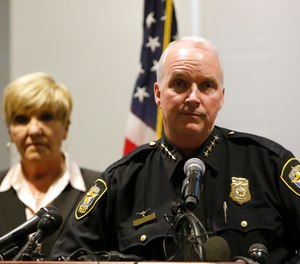 Interim police chief Ed Kraus speaks at a press conference following the killing of Atitiana Jefferson early Saturday morning.