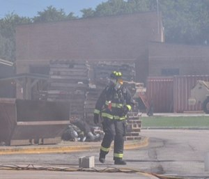 Common carcinogenic agents found in smoke include arsenic, asbestos, diesel engine exhaust, soot and formaldehyde. Firefighters are exposed to a number of these agents on a routine basis.