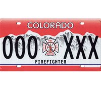 Former Colo. fire chief sentenced for trying to obtain unauthorized firefighter license plate
