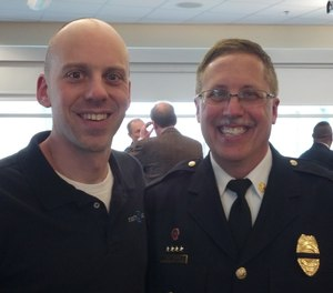 Celebrate throughout an EMS career, not just at retirement. (Photo/Greg Friese)