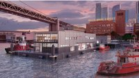 The floating fire station: A look at SFFD's first-of-its kind Fireboat Station No. 35
