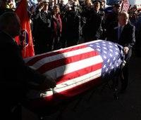 Tenn. paramedic killed in crash honored at funeral
