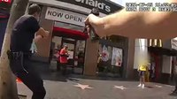 LAPD releases video of fatal Hollywood shooting of man with 'replica' gun