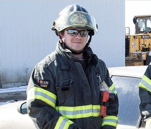 Clare Fire Department Lt. Ethan Gage, 26, died after an accidental tire explosion. (Photo/CFD)