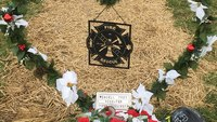 Police investigating after Ohio firefighter's grave robbed of decorations