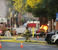 Formal investigation launched into gas explosion that killed firefighter