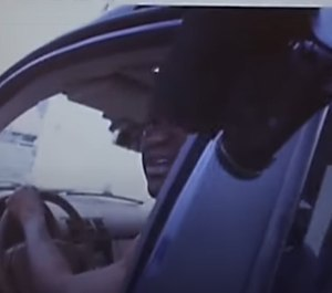 A still from a portion of the body camera footage of ex-cops Thomas Lane and J. Kueng released by The Daily Mail on August 3, 2020.