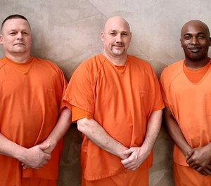 Three inmates at the Gwinnett County jail helped save a deputy who fell unconscious during a medical emergency. (Photo/Gwinnett County Sheriff's Office)