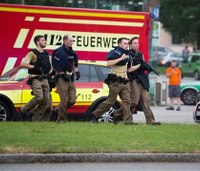 At least 8 dead, many wounded in Munich mall shooting
