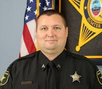 Cpl. Andrew Gillette died Tuesday morning when a suspect opened fire on deputies serving a detention order. (Photo/SCSO)