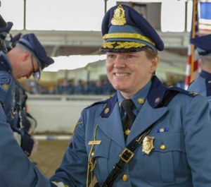 Colonel Kerry Gilpin is stepping down from her post as Massachusetts State Police superintendent. (Photo/Massachusetts State Police)