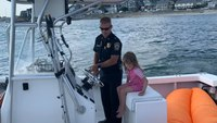 Mass. police help rescue 5-year-old swept out to sea
