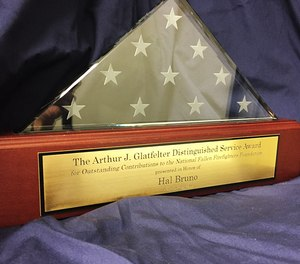 Nominations are open for the National Fallen Firefighters Foundation's 2021 Arthur J. Glatfelter Award.