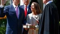 Gorsuch sworn into Supreme Court, vows to serve Constitution
