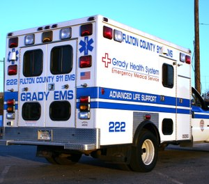 A dispute in Fulton County over the self-reported response times of Grady Emergency Medical Services highlights an ongoing effort in Georgia to establish an objective data collection process. (Photo/Willalexander via Wikimedia Commons, CC BY 3.0)