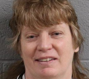 Gretchen Lee VanOrmer, 54, was arrested and charged with arson in relation to an October 2018 fire she was rescued from. A firefighter was injured pulling VanOrmer from the blaze.