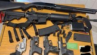 Man arrested after walking into Ga. grocery store with 6 guns, body armor