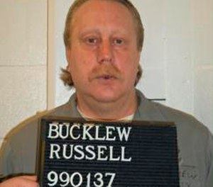 This undated file photo provided by the Missouri Department of Corrections shows Russell Bucklew. (Missouri Department of Corrections via AP File)