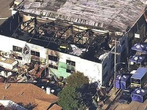 Breaking a long silence, the reclusive owners of the Ghost Ship warehouse, where 36 people died in a fire, are blaming the tragedy on their electrician, claiming he lied about being a licensed contractor.