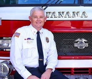 Assistant Fire Chief of the Panama City Fire Department Gary Swearingen is launching a mental health initiative after realizing the high risk of suicide among firefighters. (Photo/PCFD)