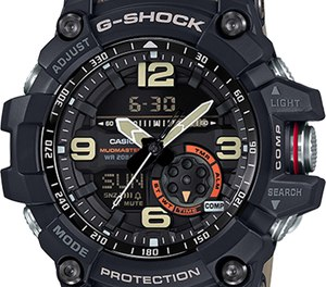 Through workouts, training, outdoor activities, and law enforcement operations, the G-Shock Mudmaster GG1000-1A5 is built to meet the demands of your on and off-duty life.