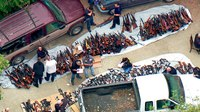 Cache of 1,000 guns seized from Calif. mansion in raid