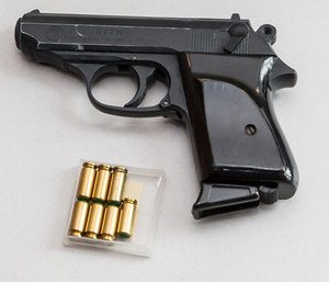 Guns are not allowed in carry-on bags, even though that doesn't stop some from trying.