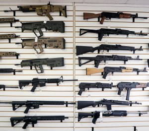 """Starting Tuesday, Jan. 1, 2019, no one under the age of 21 in Washington state will be allowed to purchase a """"semi-automatic assault rifle,"""" under a voter-approved initiative that passed in November. (AP Photo/Elaine Thompson, File)"""