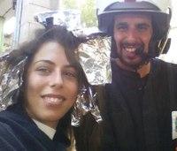 Israeli volunteer EMT saves life mid-haircut