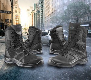 HAIX Black Eagle series tactical and athletic boots for law enforcement. (image/HAIX)