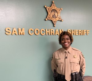 Lieutenant Terri Hall is the Mobile County Sheriff's Office's first female lieutenant in the department's 208-year history. (Photo/TNS)