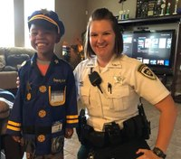 Fla. deputy buys Halloween costume for young aspiring LEO