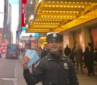 NY cop helps woman who was short $20 buy 'Hamilton' tickets