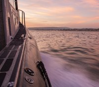 Photo of the Week: Sunset with the Santa Cruz Harbor Patrol
