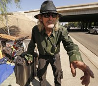 Homeless man sues city over Facebook pages used by police, alleging harassment
