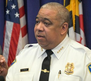 Police Commissioner Michael Harrison said his department continues to work on addressing overtime, both for fiscal reasons and for officer health and wellness. (Photo/TNS)