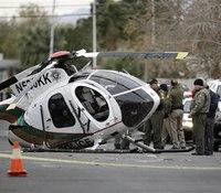 2 officers hurt in Vegas copter crash