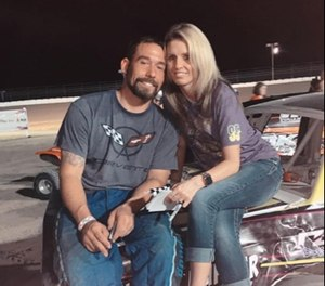 Cody Herndon and Keisha Houser received special permission from the Fannin County sheriff's office to be married in jail while Houser was incarcerated. (Photo/Facebook/Keisha Houser)