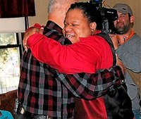 Firefighter reunites with boy saved 25 years ago