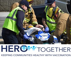 The Healthcare Worker Exposure Response & Outcomes (HERO) Registry is conducting a study on the long-term safety of COVID-19 vaccines for first responders.