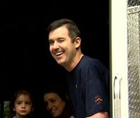 Video: Injured firefighter leaves hospital with hero's welcome