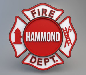 A Hammond firefighter is under investigation after a noose and sexually explicit drawings were found in a fire station office.