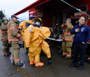 A hazmat incident is a low probability, high threat, mammoth resource, huge consequence, multijurisdictional situation. (Photo/City of Portland, Ore.)
